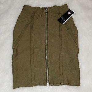 Guess Zip Up Skirt Size XS